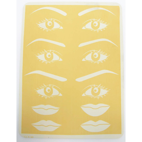 Permanent Makeup Eyebrow and Lip Leather Practice Pad