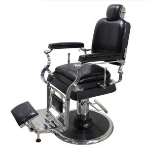 Luxury Hydraulic Recline Barber Chair, Professional Hair Salon Massage Chair