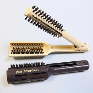 Professional Heatproof Hair Brush, Hair Flat Clip Brush, Clip Comb, Salon Brush